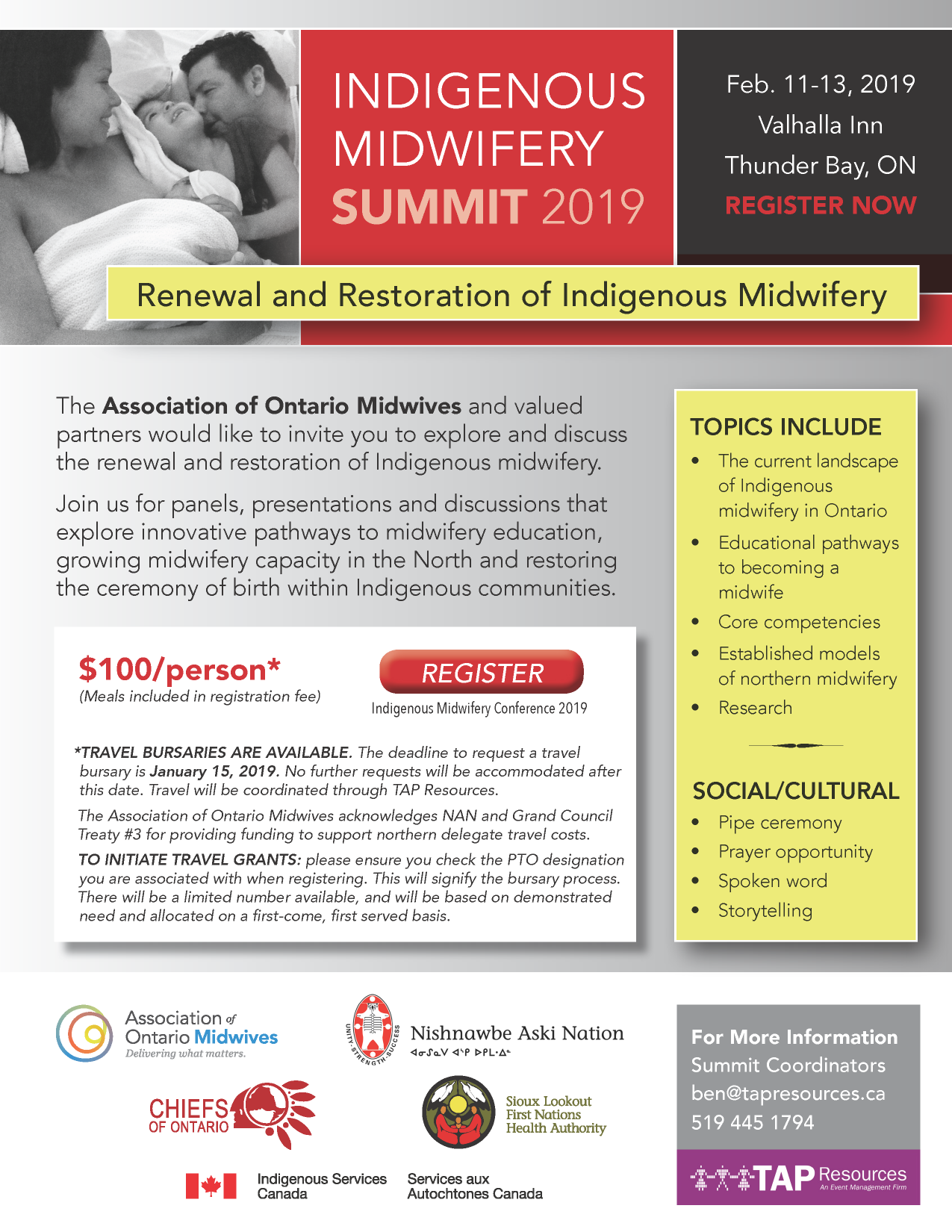 Indigenous Midwifery Summit 2019
