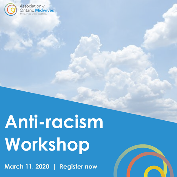 Anti-racism workshop: Wednesday, March 11, 2020